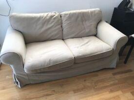 IKEA Ektorp 2-seat sofa velinge beige