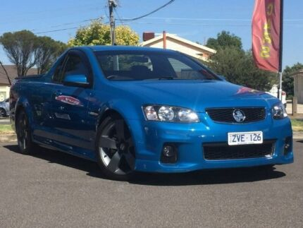 2013 Holden Ute Blue Sports Automatic Utility