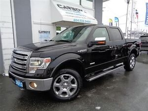 2013 Ford F-150 Lariat Crew 4x4, Eco-Boost, Nav, Sunroof