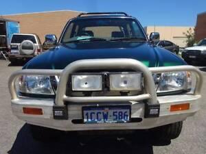 2002 Toyota Hilux Turbo Diesel SR5 LOW KMS 4X4 Ute Wangara Wanneroo Area Preview