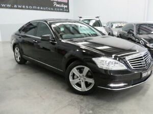 2010 Mercedes-Benz S-Class W221 MY10 S350 Black Crystal 7 Speed Automatic Sedan