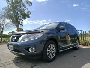 2014 Nissan Pathfinder R52 MY15 ST-L X-tronic 4WD Blue 1 Speed Constant Variable Wagon Enfield Port Adelaide Area Preview