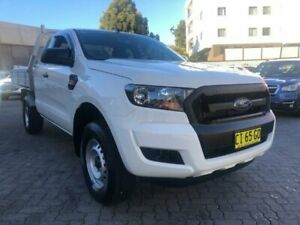 2016 Ford Ranger PX MkII XL 2.2 Hi-Rider (4x2) White 6 Speed Automatic Crew Cab Pickup North Strathfield Canada Bay Area Preview