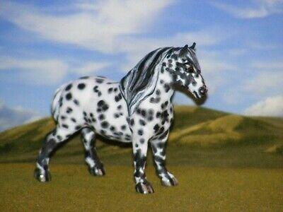 OOAK Breyer cm Custom Stablemate G1 Draft Horse RESCULPT  by D Williams*WoW*