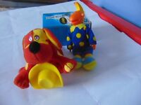 2 McDonalds Toys Jake & Doodles the dog