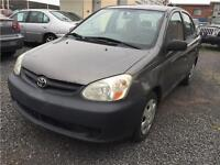 2003 Toyota Echo *** AIR CLIMATISE  MECANIQUE A1