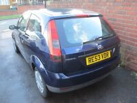 Ford Fiesta LX 1.2 Dark Blue 2 owners with MOT 53 plate 2003 reg with 2 keys 1.25