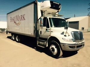 2013 International 4400 6x4, Used Reefer Van
