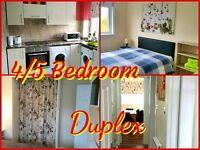 4/5 BEDROOM DUPLEX - SHORT TERM RENTALS - WEEKLY / MONTHLY STAYS