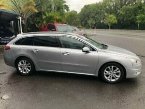 2011 Peugeot 508 Allure Touring Silver 6 Speed Sports Automatic Wagon Nambour Maroochydore Area Preview