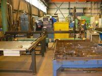 Table de coupe CNC oxycoupage et plasma