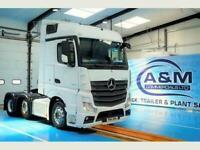 Mercedes-Benz Actros 2545 Big space, Euro 6, 6x2 mid lift axle