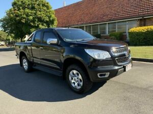 2012 Holden Colorado RG LTZ Black 5 Speed Manual Spacecab Chermside Brisbane North East Preview