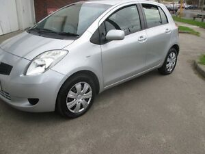 2008 Toyota Yaris NCP91R MY09 YRS Silver 5 Speed Manual Hatchback Tottenham Maribyrnong Area Preview