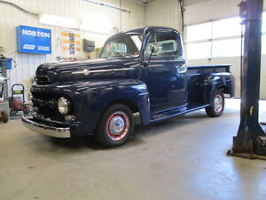 restored original 1952 mercury m1 pick up