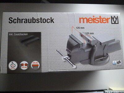 Meister Schraubstock 125 mm  5134500  Werkbank  Werkstatt