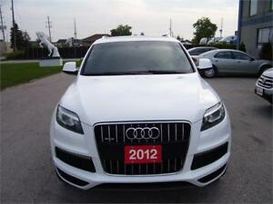 2012 Audi Q7 3.0L Premium Plus S-LINE NAVIGATION LOADED.