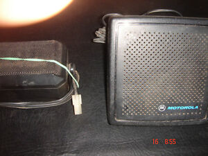 Motorola External 2-way Radio Speaker