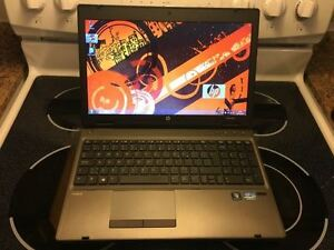 ordinateur portable hp probook i5  tres performant  Pas Cher