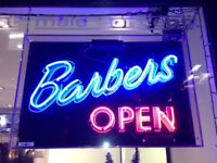 EXPERIENCED FEMALE / MALE BARBERS Full & Part time positions available