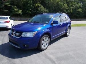 2012 Dodge Journey R/T AWD WITH HEATED LEATHER SEATS
