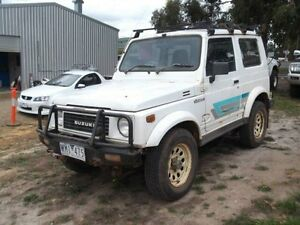 1991 Suzuki Sierra (4x4) White 5 Speed Manual 4x4 Hardtop Timboon Corangamite Area Preview