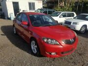 2004 Mazda 3 BK10F1 Maxx Sport Red Sports Automatic Hatchback Lansdowne Bankstown Area Preview