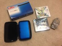 Nintendo 3DS XL Blue with Pokemon Black 2 and Pokemon X