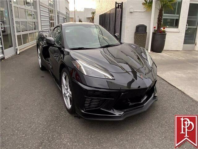 2020 Black Chevrolet Corvette  1LT   C7 Corvette Photo 4