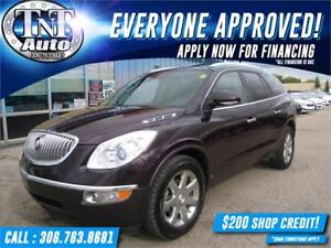 2009 Buick Enclave CXL AWD-NAV-LEATHER-SUNROOF-B/U CAMERA!