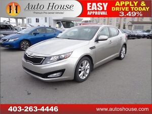 2013 Kia Optima EX Turbo+ leather pano roof EVERYONE APPROVED