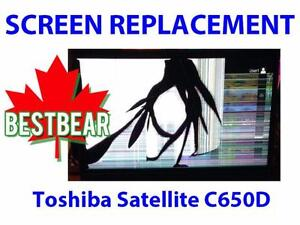 Screen Replacment for Toshiba Satellite C650D Series Laptop