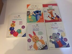 Lot of 5 Baby Einstein DVDs (used)
