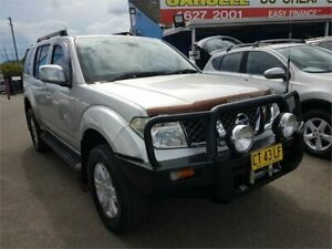 2007 Nissan Pathfinder R51 MY07 ST-L Silver 6 Speed Manual Wagon Campbelltown Campbelltown Area Preview
