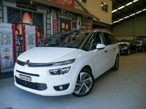 2014 Citroen Grand C4 Picasso B7 Exclusive White 6 Speed Sports Automatic Wagon Rydalmere Parramatta Area Preview