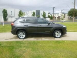 2014 Jeep Cherokee KL Longitude Grey 9 Speed Sports Automatic Wagon Beverley Charles Sturt Area Preview