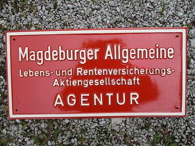 MAGDEBURGER ALLGEMEINE LEBENS- u. RENTENVERSICHERUNG AGENTUR BLECHSCHILD