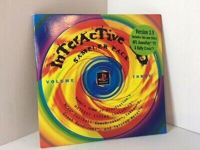 Playstation Interactive CD Sampler Pack Volume Three Version 3.5 ( SCUS-94966 )