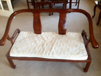 Lovely Mahogany two seat sofa and two chairs