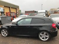 BMW 123D M SPORT (REQUIRES A NEW FUEL INJECTOR PUMP NON-RUNNER)
