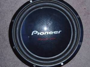 """Pioneer 12"""" 1400 W max subwoofer & Fusion Amp & amp box Burswood Victoria Park Area Preview"""