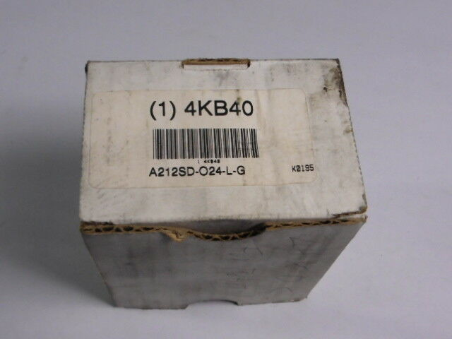 Ingersoll-Rand A212SD-O24-L-G Solenoid Air Control Valve 2-Position  NEW