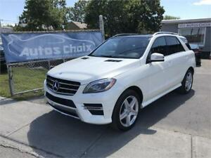 MERCEDES ML350 BLUETEC 4MATIC AWD 2013 **DIESEL**CUIR**TOIT**CAM