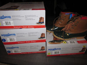 "Boots. ""aquatherm, size 6 & size 7, BNIB"