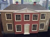 Large Doll House with Furniture