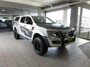 2013 Ford Ranger PX XL 2.2 (4x4) White 6 Speed Automatic Crewcab Thornleigh Hornsby Area Preview
