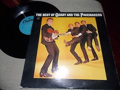 THE BEST OF GERRY AND THE PACEMAKERS RECORD
