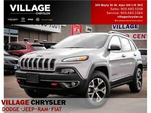 2016 Jeep Cherokee Trailhawk|NAV|PANOROOF|REMOTE|LEATHER