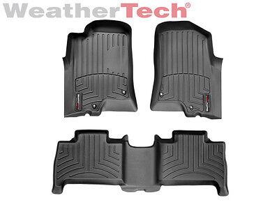 Weathertech Floor Mats Floorliner For Hummer H3   2006 2010   Black