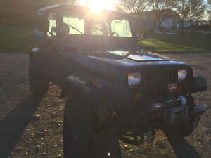 1995 Jeep YJ inline 6 only 90000kms